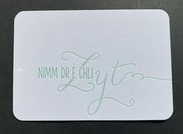 """Art. 20.008 / """"Nimm dr e chli Zyt"""""""