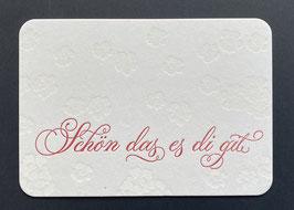 """Art. 17.004 / """"Schön das es di git"""""""