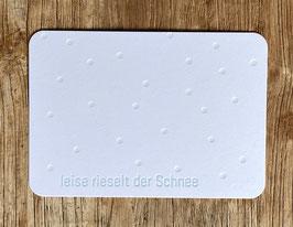 """Art. 18.032 / """"leise rieselt der Schnee"""""""
