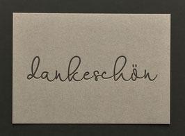 """Art. 19010 / """"dankeschön"""""""