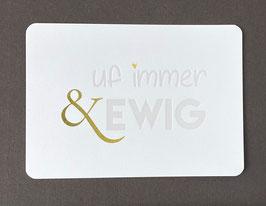 "Art. 20.015 / ""uf immer&ewig"""