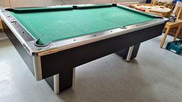 Poolbillard 7 feet Toronto von Heiku mit neuem Tuch Farbe nach Wahl -180520211