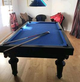 Karambolage Poolbillard 7,5 feet Chevillotte Kombi -260720210