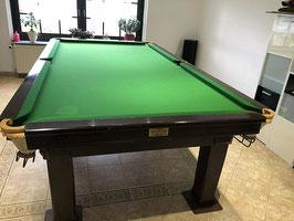Englischer Snooker Tisch der Marke Thurston aus Massivholz -140620211