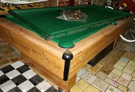Poolbillard 7 feet Hoffmann mit Karambolage Kombitisch -010620212