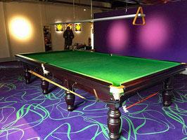 Riley 12 feet Snookertisch Aristocrat mit Zubehör