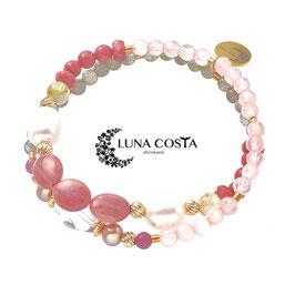 LUNA COSTA Easter 2019 シリシャスシスト2連ブレスレット