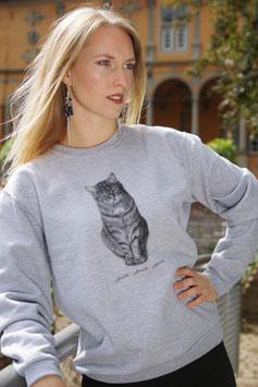 "Sweatshirt ""Stubentiger"""