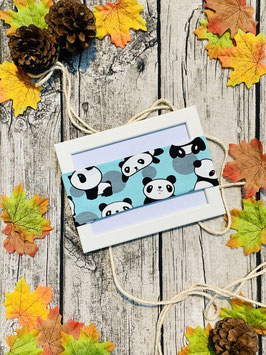 Stirnband Panda mint