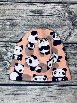 Beanie Panda lachs
