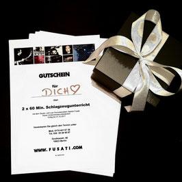 Geschenkgutschein 2 x 60 Minuten