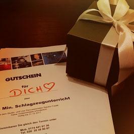 Geschenkgutschein 1 x 60 Minuten