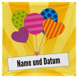 Knabenspanntuch «Ballone»