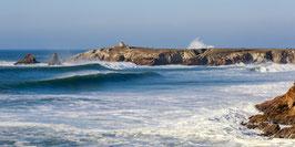 Photographie Panoramique, La côte sauvage de Quiberon. Photographie sur Alu Dibond 30*60cm