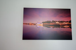 Sunset sur le port de Kerecabellec Forex 20*30cm