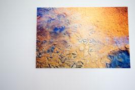 Photographies des Marais Salants imprimée sur Forex 20*30cm