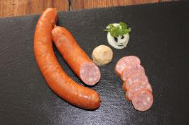 Hauswurst und Käsekrainer