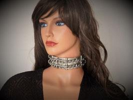 Ketten-Halsreif, massiv, schwere Ausführung, passt an jeden Hals