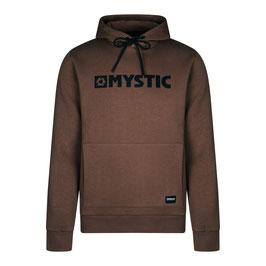 Mystic  Brand Hood Sweat in Dark Brown