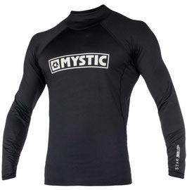 Mystic Star Rash Vest L/S Black