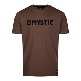 Mystic Brand Tee Dark Brown