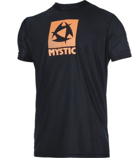 Mystic Star Quick Dry S/S Black Orange