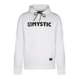 Mystic  Brand Hood Sweat in White