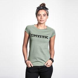 Mystic Brand Tee Women Seasalt Green