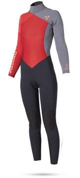 Mystic Diva  5/3 D/L Wetsuit Back Zip Coral