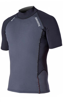 Mystic Neo Rash Vest S/S Black