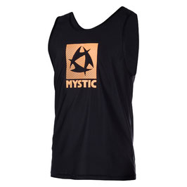 Mystic Star Tanktop Quickdry in Black / Orange
