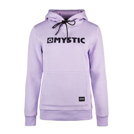 Mystic  Brand Hoodie Sweat in Pastel Lilac