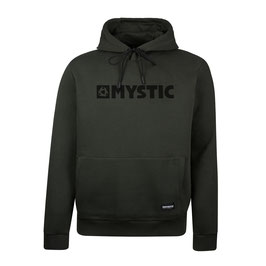 Mystic  Brand Hood Sweat in Brave Green*