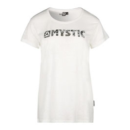 Mystic Beat Tee in White