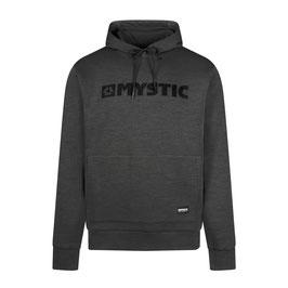 Mystic  Brand Hood Sweat in Asphalt Melee