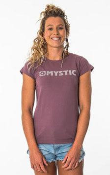 Mystic Brand Tee Women Rusty Red