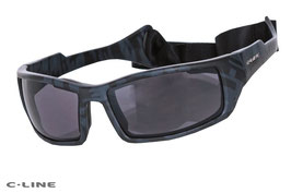 C-Line Glasses Davy Polarization Unisex Grey