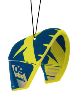 Freshkite / Duftkite F-One Bandit Style in Yellow/Deep Blue