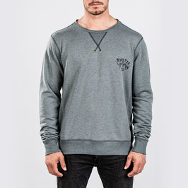 Mystic Rear Sweat in Rock Grey