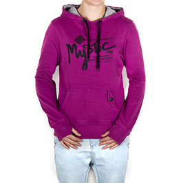 Mystic Written Sweat Women Ultra Purple