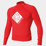 Mystic Star Rash Vest Men L/S Red