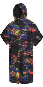 Mystic Poncho Velour Rainbow