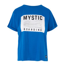 Mystic Charley Tee in Flash Blue