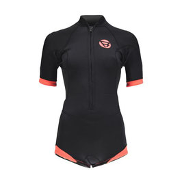 Brunotti Defence Supershorty 3/2 D/L Women Wetsuit in Black/Coral
