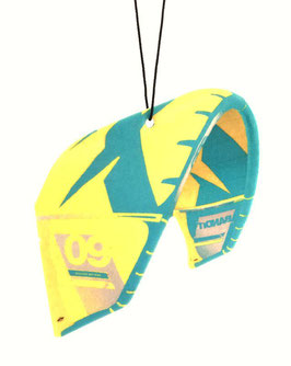 Freshkite / Duftkite F-One Bandit Sytle in Yellow/Turquoise