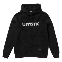 Mystic  Brand Hood Sweat in Black