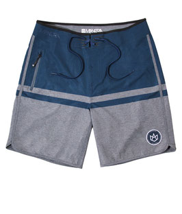 Manera Boardshort Haapiti Grey Heather