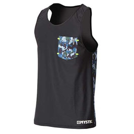 Mystic Hide Quickdry Tanktop Black