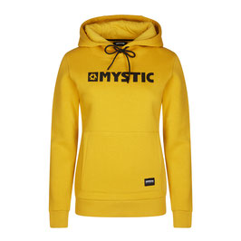 Mystic  Brand Hoodie Sweat Mustard