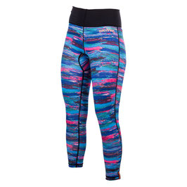 Mystic Dazzled Rashpants Women Purple/Rainbow